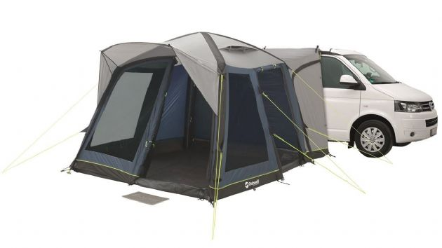 Outwell MILESTONE PRO AIR Drive Away Awning, Caravan Campervan Drive Away Awning - Grasshopper Leisure
